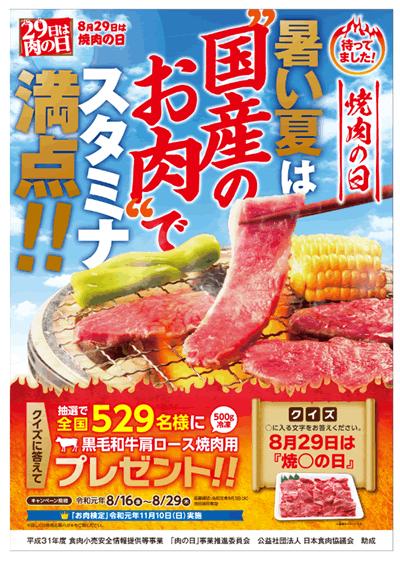 焼き肉の日